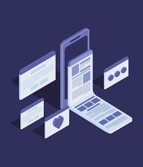 Online education technology with smartphone