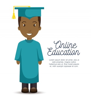 Online education template