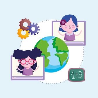 オンライン教育の世界