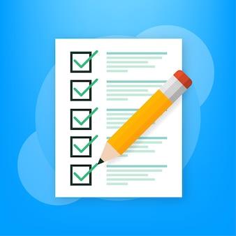 Online exam on green Premium Vector