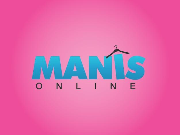 Online fashion retailer logo design