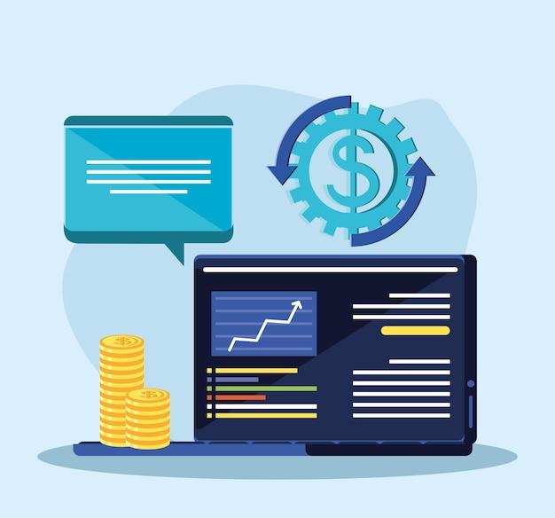 Online financial management