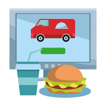 Online food order and delivery