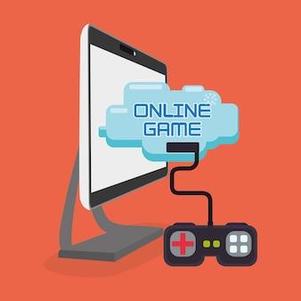オンラインゲームプレイコントロールコンソール