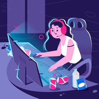온라인 게임 중독 개념