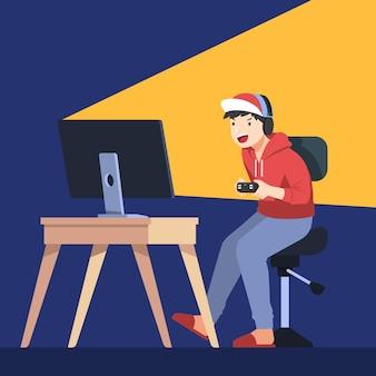 オンラインゲーム中毒