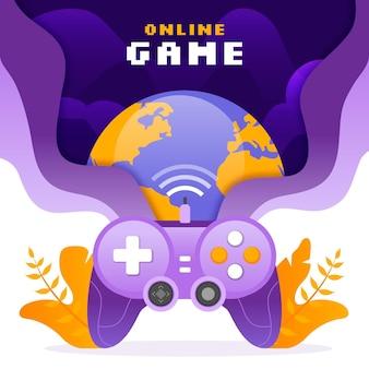 オンラインゲームのコンセプト
