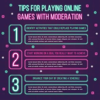 Giochi online con suggerimenti per la moderazione