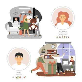 検疫で家にいる愛する人へのオンラインギフト