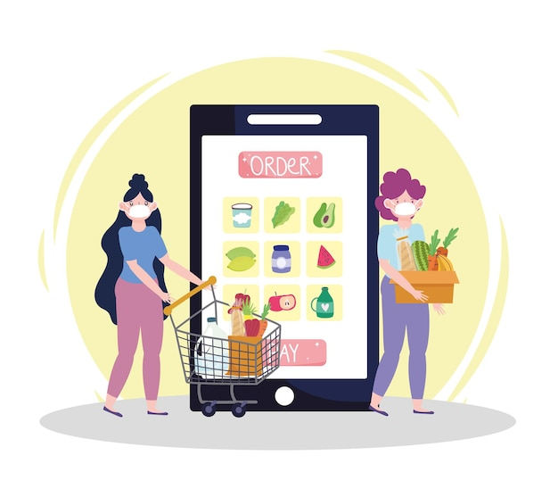 온라인 식료품 주문