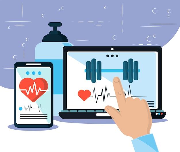 Онлайн-приложение для здоровья