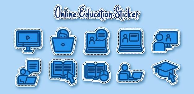 Наклейка для онлайн-обучения