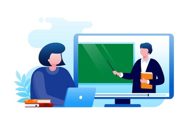 コンピューターによるオンライン学習