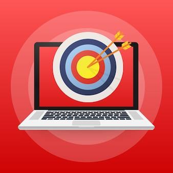オンラインメディア、ターゲットオーディエンス、デジタルマーケティング。