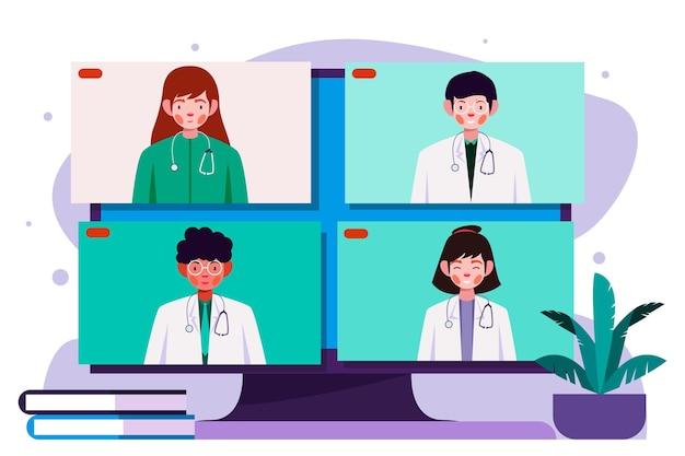 Online medical conference