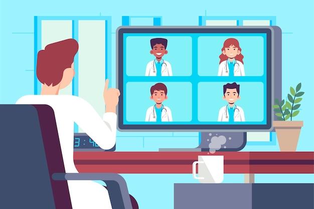 Медицинская онлайн-конференция