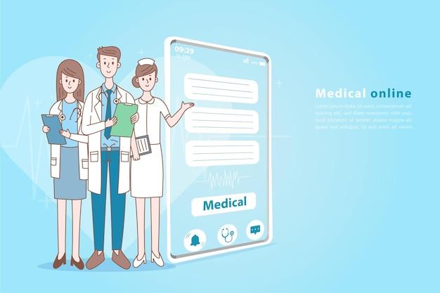 Приложение для смартфона онлайн-консультация медицинские услуги