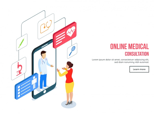 Online medical consultation template collection.