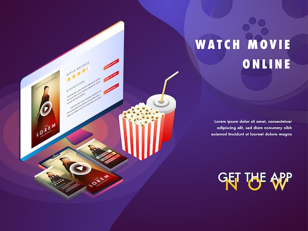 Online movie concept with isomeric set-up