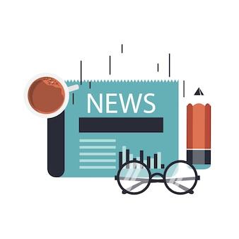 Online news concept