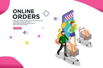 オンライン注文等尺性デザイン