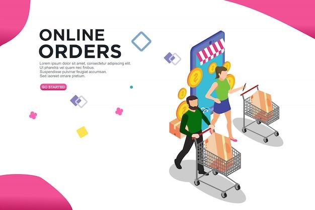 Online order isometric design
