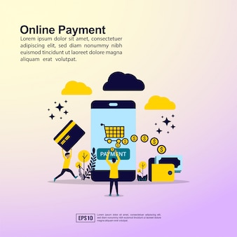 Online payment banner
