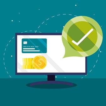 Отметка об онлайн-оплате