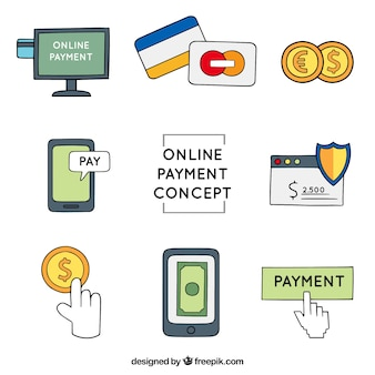Online payment, collection