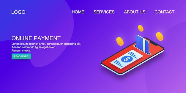 Online payment method