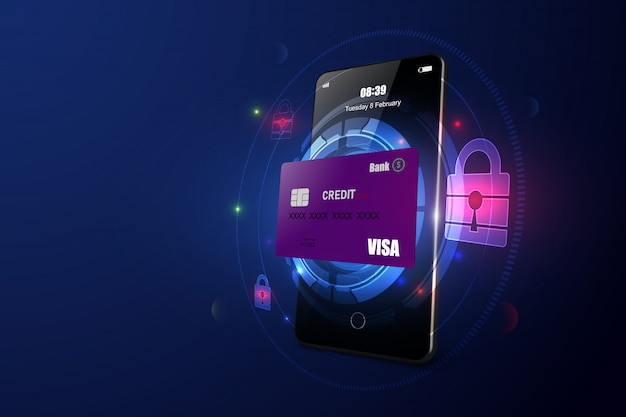 Online payment security via smartphone