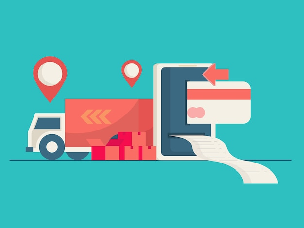Online payment and shipping