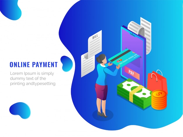 Online payments by card