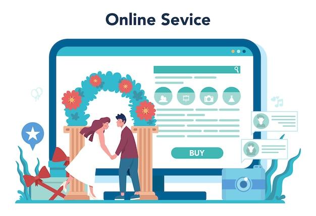 Online platform banner template