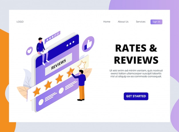 Online rates and reviews