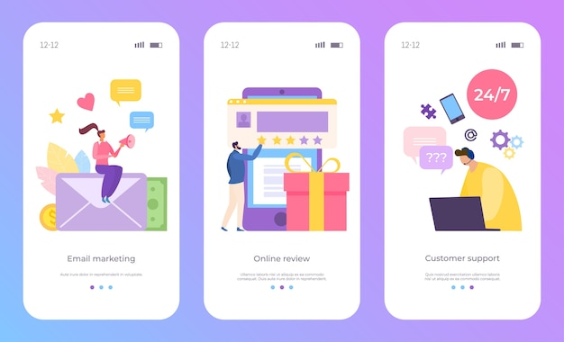 Онлайн-обзор и набор поддержки клиентов