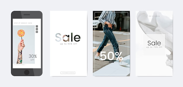 Online sale template
