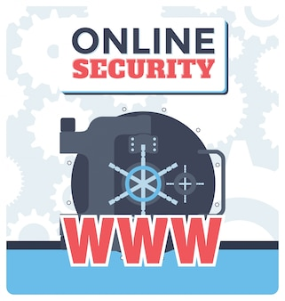 Online security illustration