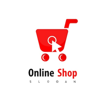 Online shopping logo templates vector free download for Design online shop