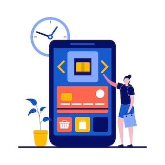 消費者の性格を持つオンラインショッピングとeコマースの概念