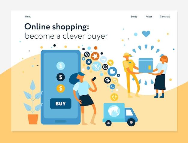 Online shopping benefits advantages convenience