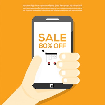 Online shopping big promo discount