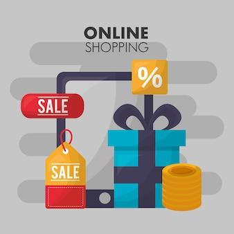 Online shopping card
