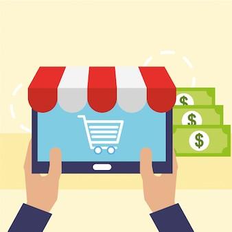 Online shopping commerce