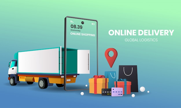 Online shopping  delivery