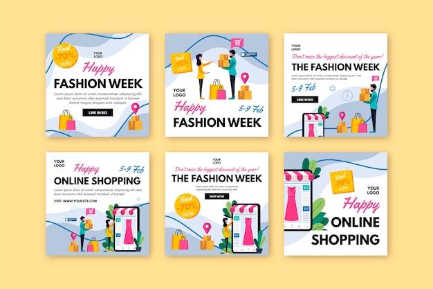 온라인 쇼핑 instagram 게시물