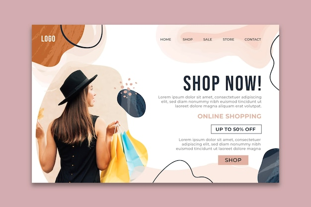 Modello web per lo shopping online