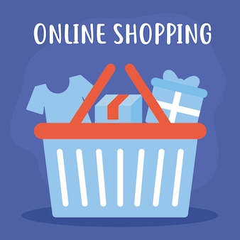 Online shopping with bundle of online shopping