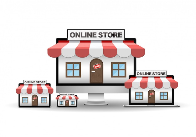 Online store device