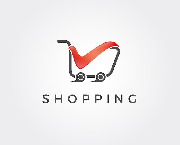 Online store logo template.